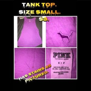 PINK TANK TOP SMALL